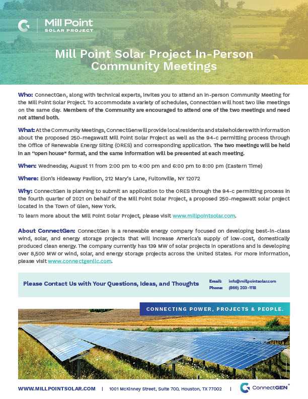 CG-Mill Point Solar- In Person Public Meeting Invite Thumbnail